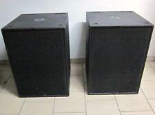2 x Seeburg Acoustic Line B 1801 Subwoofer Bässe