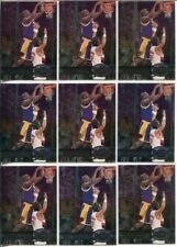 (9) 1997-98 SKYBOX METAL UNIVERSE #50 SHAQUILLE O'NEAL LOT