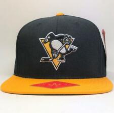 Pittsburgh Penguins Black/Gold NHL Snapback Hat  American Needle Licensed New