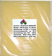 Caliente pegamento 0,4kg amarillo con resine 21 Palos reparación de abolladuras
