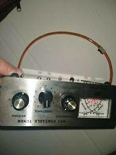 MFJ-971 QRP Portable Antenna Tuner, Manual, Desktop, 200 watts, 160-10 meters
