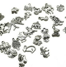 Tibetan Silver Mixed Pendant Bread Jewelry 20pc Making DIY Craft Art Charms