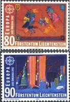 Liechtenstein 1033-1034 (kompl.Ausg.) postfrisch 1992 Europamarken