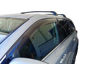Tinted Door Visor Weather Rain Shield Slimline for Toyota Kluger 2015-21
