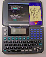 Royal DM70NX Electronic Organizer with EZVue LCD Display & Calculator