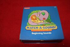 Lakeshore Learning Match-A-Sound BEGINNING SOUNDS Phonemic Awareness Box AA411