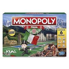 MONOPOLY ITALIA gioco società 2017 ITALIANO C1817103 Hasbro -nuovo- Italia