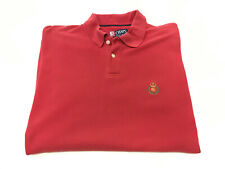 CHAPS by Ralph Lauren Men's Red Polo Shirts Size L
