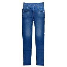 Women Modish Denim Look Sexy Skinny Leggings Jeans Jeggings Stretch Pants US