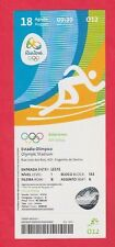 Orig.Ticket  Olympische Spiele RIO DE JANEIRO 2016 - Leichtathletik 18.08. // A