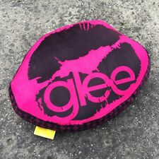 "GLEE ""Pink & Black"" Novelty Kiss Shaped Children's Decorative Cushion Pillow"