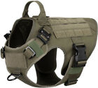 Внешний вид - Tactical Dog Harness with Handle No-pull Large Military Dog Vest US Working Dog
