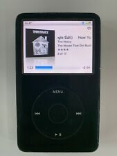 New listing Apple iPod Classic 6th Gen 80Gb Black A1238 Mb147Ll With Cases Bundle