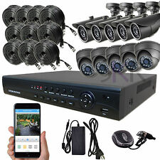 Sikker Standalone 10 Ch CHANNEL 720P DVR Video Recorder Security Camera System