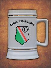 Kufel Legia Warszawa Liga Mistrzow 2017 Kibic fans Present  - Beer Stein