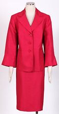 LE SUIT Azalea Sz 14W Women's Poly Skirt Suit $240 New