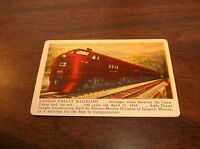 LEHIGH VALLEY RAILROAD TOBACCO CARD