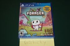 Forager (Playstation 4 PS4) NEW SEALED Y-FOLD W/POSTER+STICKERS, MINT & RARE!