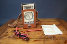 Wavetek 310B Multimeter Vintage Leather Case & Probes Working