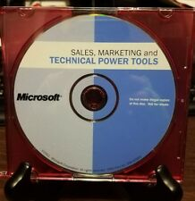 Microsoft Sales, Marketing and Technical Power Tools (2001, CD-ROM)