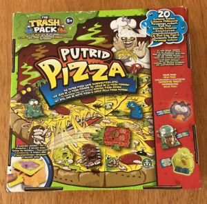 Putrid Pizza The Trash Pack Game Mega Pack Boxed Some Sealed