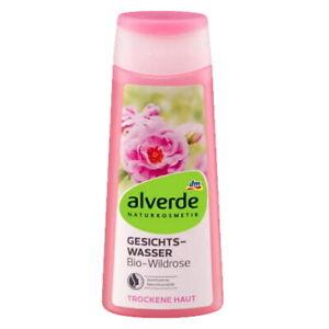 Alverde Natural Cosmetics Organic Wild Rose Facial Toner for DRY SKIN, 200ml