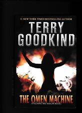 TERRY GOODKIND---THE OMEN MACHINE---hc/dj---1st1st2011---A TOM DOHERTY ASSOCIATE