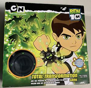 Ben 10 Total Transformation Board Game 2007 Omnitrix Alien Hero Power Battles