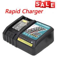 14.4V 18V Rapid Optimum Makita Cordless Li-ion Power Tool Battery Charger NEW