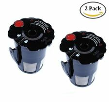 2Pack Reusable Refillable K-Carafe Black Coffee Filters Pods Cup For Keurig