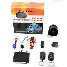 Sistema Allarme Antifurto Auto Camper Universale Octopus 2 Telecomandi hsb