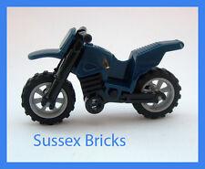 Lego-bleu foncé dirt bike moto moto motocross-ville-de nouvelles pièces