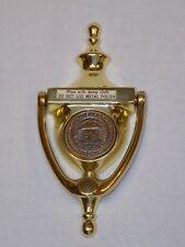 Total Electric Gold Medallion Home Award Brass Door Knocker Live Better Electric