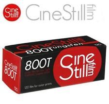 Cinestill 800 ISO 800T Tungsten Xpro C-41 Medium Format 120 Color Prints Film