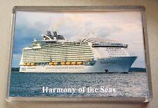 Royal Caribbean HARMONY OF THE SEAS Large Fridge Magnet Cruise Ship So'ton b