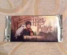 Harry Potter & The Sorcerers Stone Factory Hobby Packet / Pack - Wrapper Only