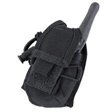 Condor MA56-002 BLACK HHR MOLLE Law Enforcement Handheld Radio Pouch