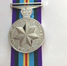 Australia  Active Service  Medal 1945-75 Replica F/SMedal 300mm Ribbon