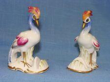 Pair of Von Schierholz Exotic Bird Place Card Holders