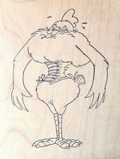Chicken Girdle - Art Impressions - Wood Mounted Rubber Stamp