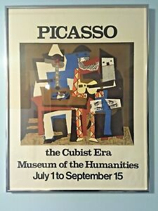 1993 Pablo Picasso  RETRO POSTER RARE  Large size:43x30,5cm