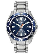 Citizen Eco-Drive Promaster Blue Dial Stainless Steel Men's Watch BN0191-55L