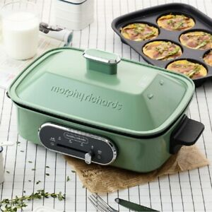 Morphy Richards 3-in-1 Multifunction Cooking Pot Red/Green 2020 Stock New