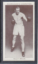 Churchman - Boxing Personalities 1938 - # 38 Billy Wells