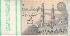 EGYPT 50 PT 1991 : 1993 P-58b SIG/ S. HAMED #18 TST#2 LOT BUNDLE X100 UNC NOTES