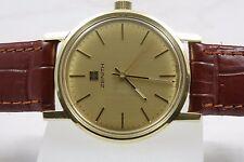 Erwachsene-mechanische - (Handaufzugs) Armbanduhren aus Massivgold für Herren