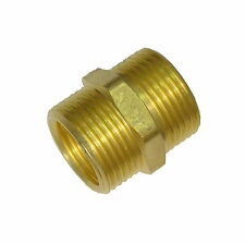 5/8 x 1/2 x 3/4 Inch Outside Tap Adaptor | Garden Hose Connector Thread Reducer