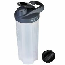 Contigo Shake & Go Fit Gimnasia Deportes Proteína Coctelera Botella 820ml 28oz con la bola de mezclador