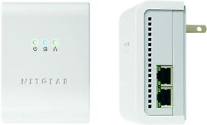 NETGEAR XE104 85 Mbps Powerline 4-Port Ethernet Adapter