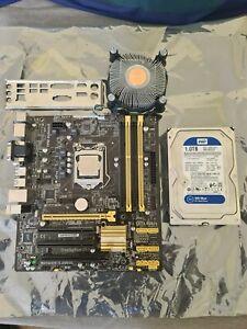 Intel i5-4460 4th Gen CPU, Asus Q87M vPro motherboard, WD 1TB HDD Bundle